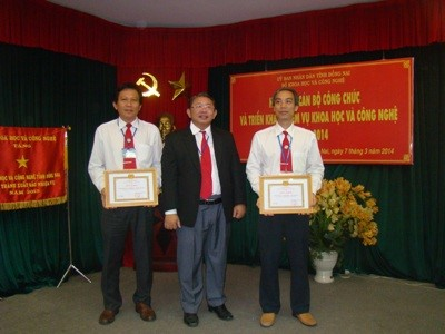 "Dong Nai Department of Science and Technology Party Organ Achieved the Outstanding ""Strong and Clean"" Title in 2013"