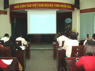 A Training Class on Defense Region Given to Officials and Civil Servants