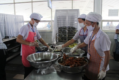 Measures to ensure food safety and hygiene in canteen kitchens enhanced